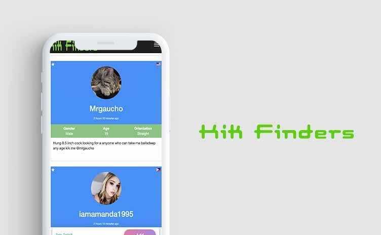 Kik finders Site