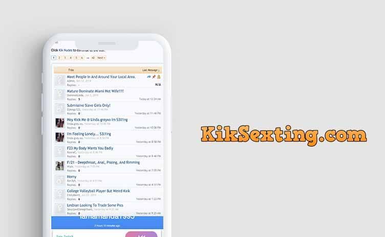kik sexting site